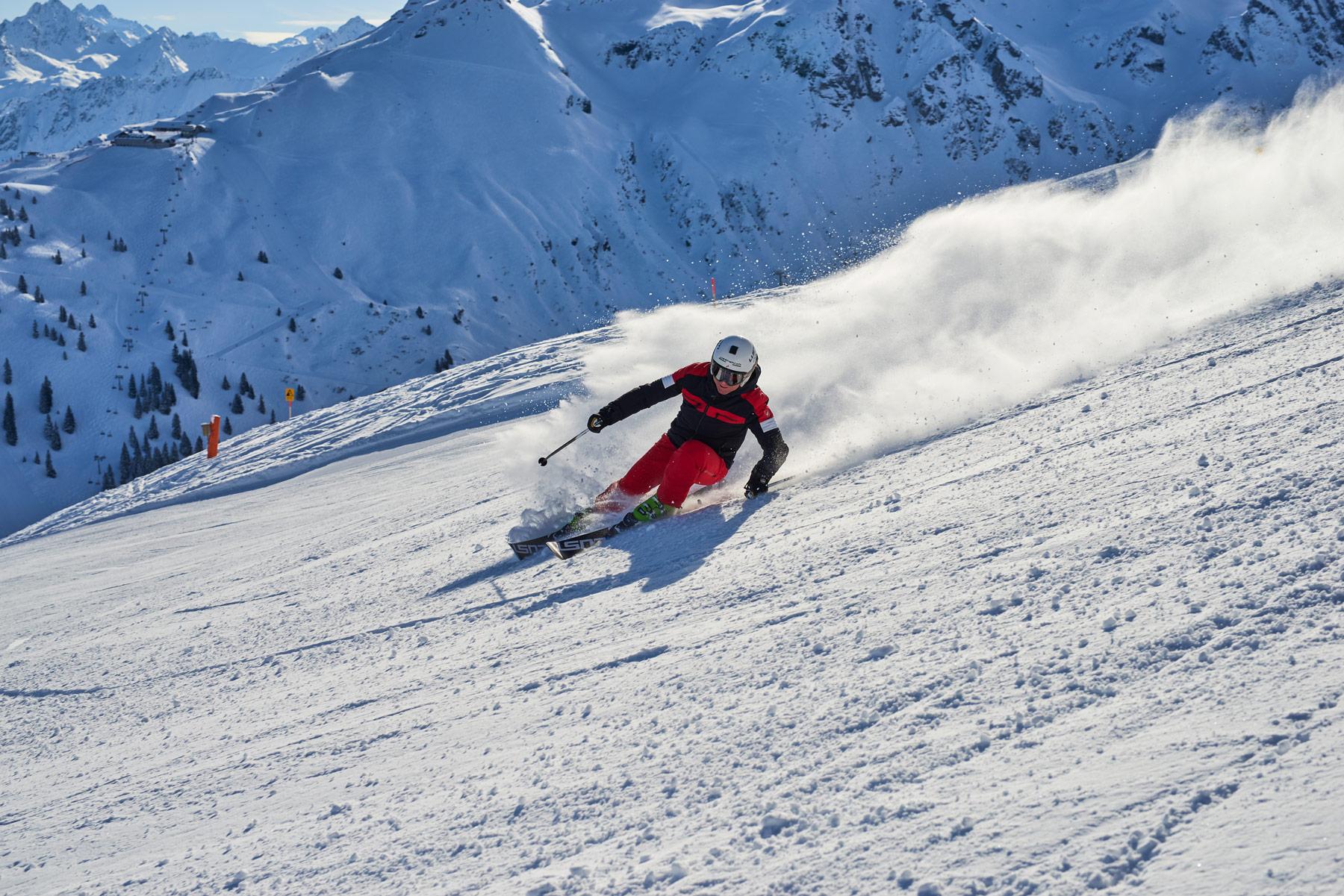 Carving mit LUSTi Ski