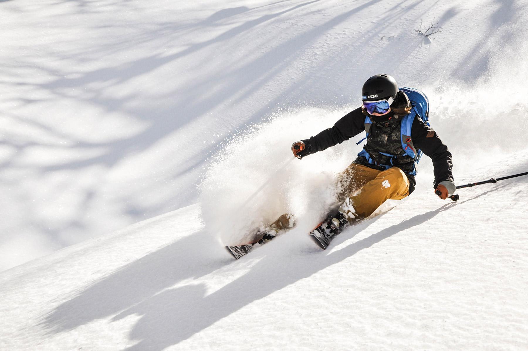 Freeriding mit LUSTi Ski
