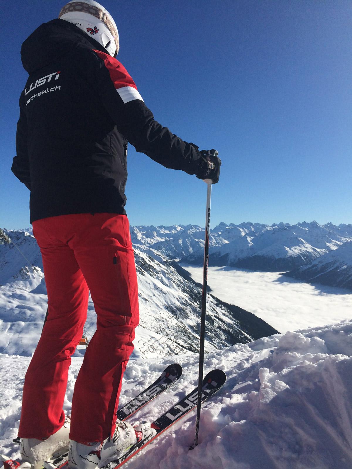 Panorama mit LUSTi Ski